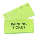 Parking Ticket Envelopes - (qty of 1000)