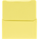 6-3/4 Canary Prism Parking Ticket Envelopes - (qty of 1000)